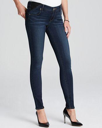 Paige Maternity Jeans Transcend Verdugo Ultra Skinny In Nottingham Bloomingdale S