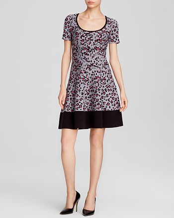 5b3bc3bd685 kate spade new york - Cyber Cheetah Sweater Dress