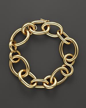 Roberto Coin 18K Yellow Gold Alternating Shape Link Bracelet - 100% Exclusive