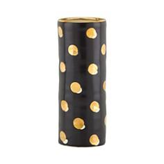 """kate spade new york Sunset Street 10.5"""" Cylinder Vase, Black Dot - Bloomingdale's_0"""