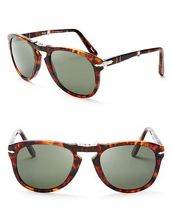 Persol - Men's Vintage Celebration Folding Keyhole Aviator Sunglasses - 100% Exclusive
