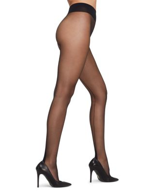 $Falke High Heel Tights with Back Seam - Bloomingdale's