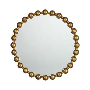 Jamie Young Ball Chain Mirror, Antique Gold