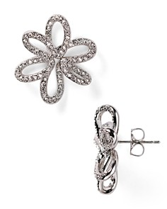 Nadri - Open Flower Stud Earrings