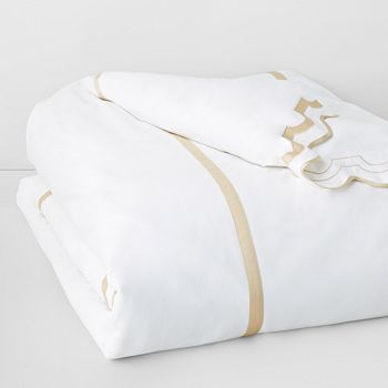 Matouk - Mirasol Duvet Cover, Full/Queen
