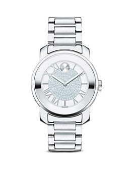 Movado - Movado BOLD Luxe Stainless Steel Watch, 32mm