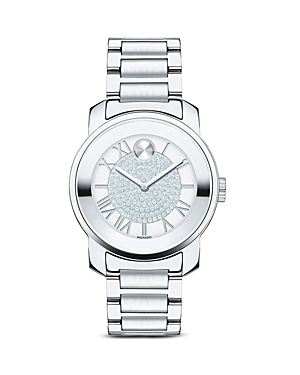 Movado Bold Luxe Stainless Steel Watch, 32mm