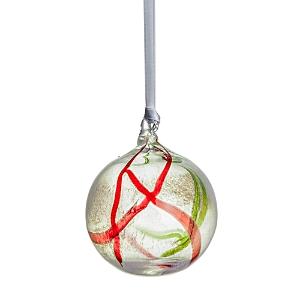 Kosta Boda Contrast Holiday Ornament