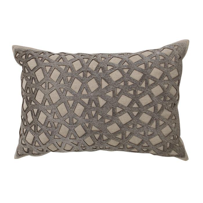 "Mitchell Gold Bob Williams - Laser Cut Hair on Hide Pillow, 14"" x 20"""