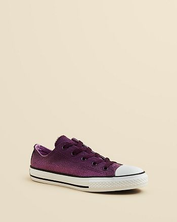 83efadbb66da Converse Girls  Chuck Taylor All Star Glitter Sneakers - Toddler ...