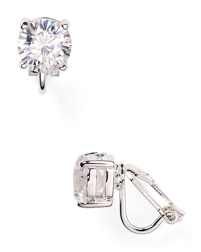 Ralph Lauren - Cubic Zirconia Clip On Earrings, 10mm