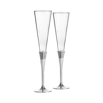 Waterford - Lismore Diamond Toasting Flute, Set of 2