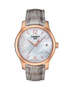 Tissot Tradition Lady Rose Gold Quartz Watch, 33mm - Bloomingdale's_0