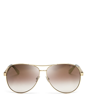 Jimmy Choo Lexie Mirrored Aviator Sunglasses, 61mm