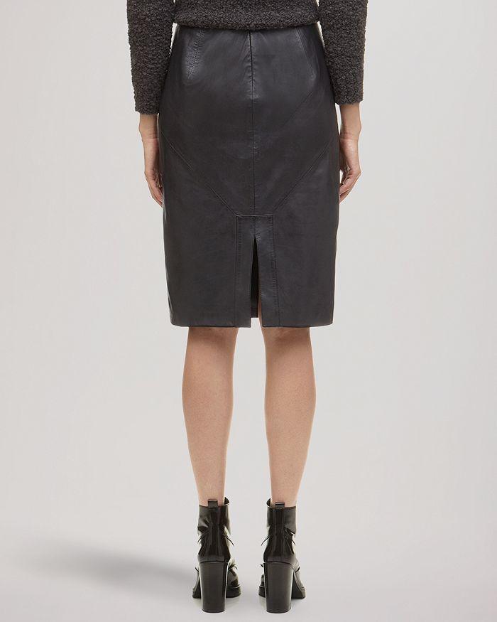 1c86817048 Whistles Skirt - Kel Leather Pencil | Bloomingdale's
