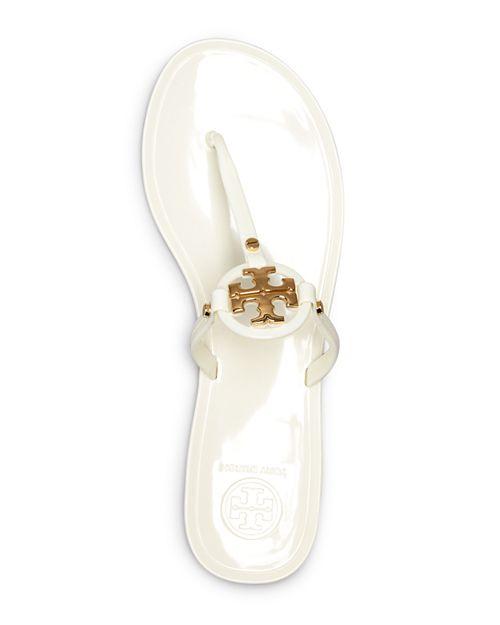 7df249ba9cee02 ... buy tory burch womens mini miller jelly flat thong sandals 53845 a1d5c