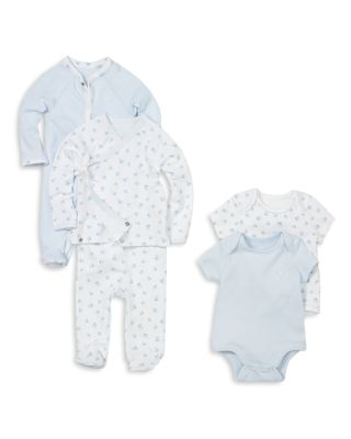 Boys' Layette Printed Bodysuit, 2 Pack - Baby