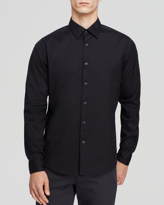 Theory - Sylvain Good Cotton Slim Fit Button-Down Shirt