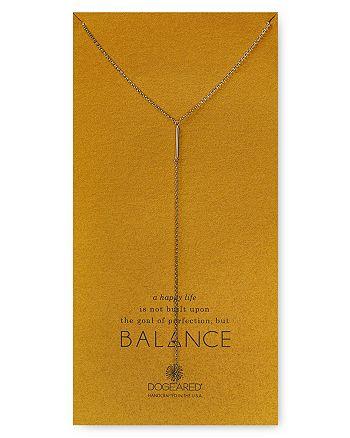 "Dogeared - Balance Bar Y Necklace, 28"""