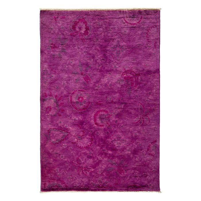 Solo Rugs - Adina Collection Oriental Rug, 4' x 6'