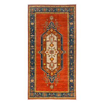 "Bloomingdale's - Adina Collection Oriental Rug, 6'1"" x 11'8"""