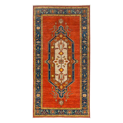 """Bloomingdale's - Adina Collection Oriental Rug, 6'1"""" x 11'8"""""""