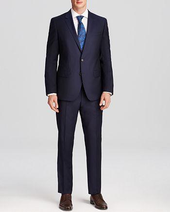 BOSS - Huge/Genius Slim Fit Wool Suit