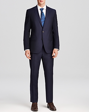 Boss Huge/Genius Slim Fit Wool Suit