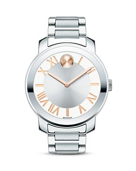 Movado - Movado BOLD Luxe Stainless Steel Watch, 39mm