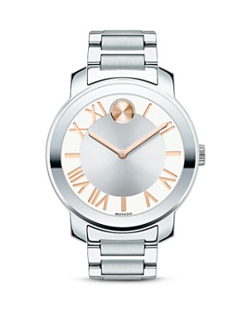 Movado BOLD - Movado BOLD Luxe Stainless Steel Watch, 39mm