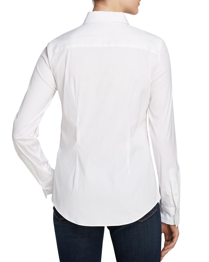 344f93348e2a80 Theory - Tenia Luxe Stretch Cotton Top