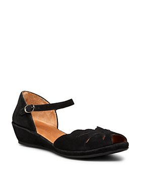 Gentle Souls by Kenneth Cole - Women's Mary Jane Demiwedge Sandals - Lilymoon