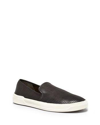Via Spiga - Women's Galeas Perforated Slip-On Sneakers