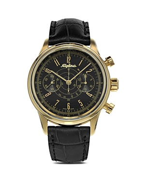 Alpina Automatic Startimer 130 Pilot Heritage Chronograph Watch, 41.5mm
