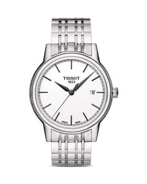 Tissot Stainless Steel Carson Watch, 40mm