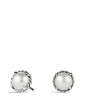 David Yurman Châtelaine Earrings With Pearls