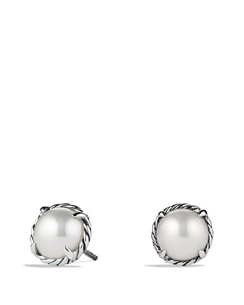 David Yurman - Châtelaine Earrings with Pearls