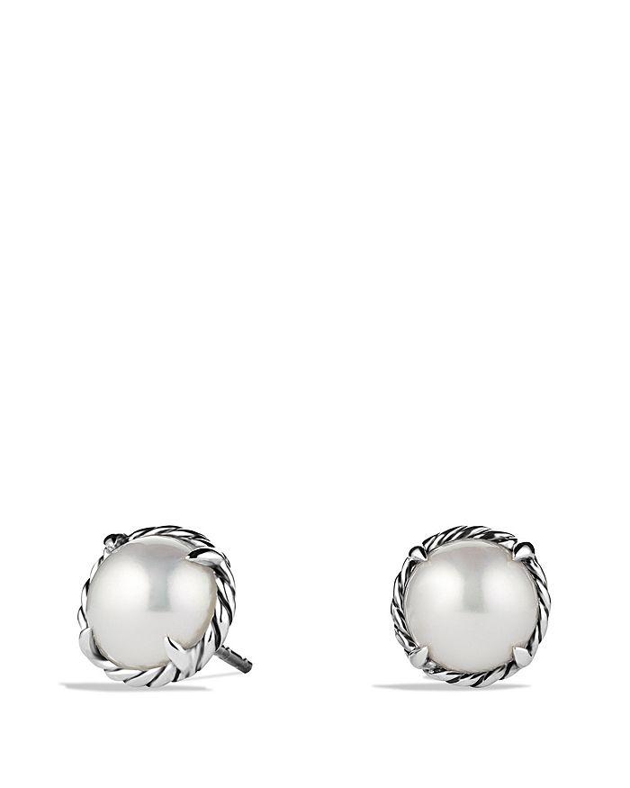 David Yurman - Châtelaine Earrings with Pearls