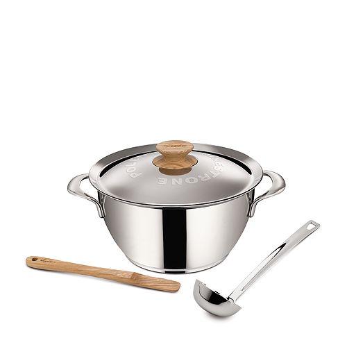Lagostina - Minestrone e Polenta 5-Quart Stewpot Set