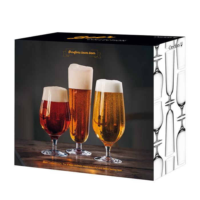 Orrefors - Beer Collection 3-Piece Set