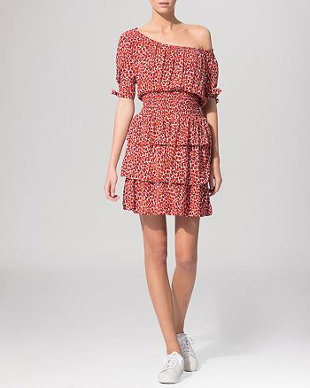 Maje - Dress - Fantasy Leopard Print