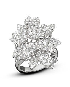 Diamond Cluster Flower Statement Ring in 14K White Gold, 3.10 ct. t.w. - 100% Exclusive - Bloomingdale's_0