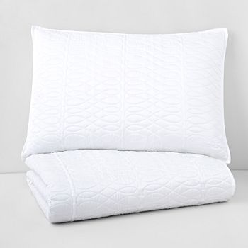 Hudson Park Collection - Lucca Quilted Standard Sham - 100% Exclusive
