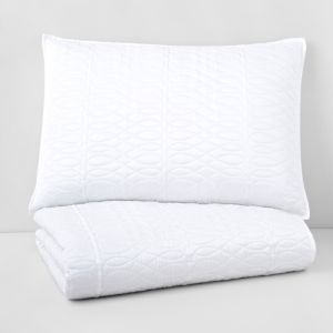 Hudson Park Lucca Quilted Standard Sham - 100% Exclusive 1251420