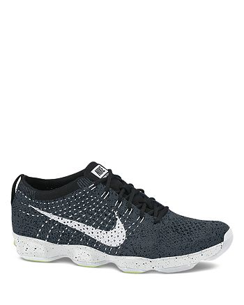 reputable site 4c824 26ef2 Nike - Lace Up Sneaker - Women s Flyknit Zoom Agility