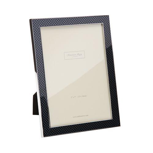 "Addison Ross - Gray Carbon Frame, 5 x 7"""
