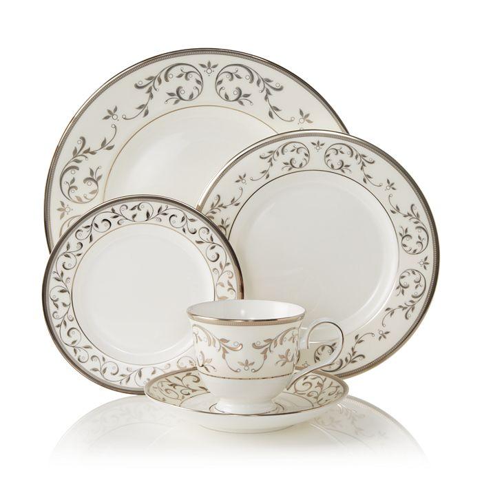 Lenox - Opal Innocence Silver Dinnerware