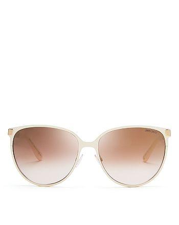 Jimmy Choo - Women's Mirrored Posie Sunglasses, 60mm