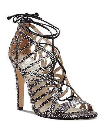 Dolce Vita - Open Toe Caged Ghillie Lace Up Sandals - Tessah High-Heel