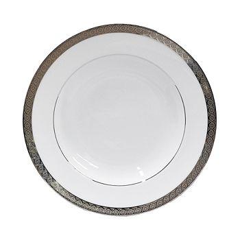 Bernardaud - Torsade Rimmed Soup Bowl